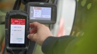 Truck Call App von Linde im Einsatz