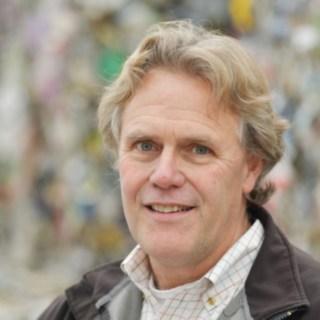 Thomas DeVivo CEO von Wilimantic auf seinem Recyclinghof in Conneticut