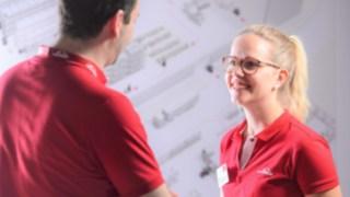 Nicole Nöth arbeitet bei Linde Material Handling als Manager Intralogistics Product Portfolio für den Bereich EMEA