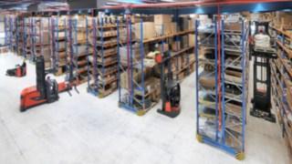 Logistikzentrum von Yanmar Compact Equipment Europe und Lösungen von Linde Material Handling