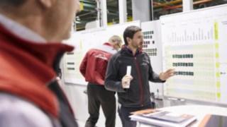 Besprechung von Linde Mitarbeitern der Entwicklung & Konstruktion