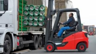 Neue Linde Diesel- und Treibgasstapler im Traglastbereich von 1,4 bis 2,0 Tonnen
