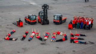 Formula Student Germany setzt auf Stapler und Lagertechnik von Linde