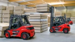 EVO-Serie: Zwölf neue Diesel- und Treibgasstapler im Traglastbereich von 5 bis 8 Tonnen