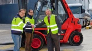 Mehr als 100.000 Flurförderzeuge in 2015 bei Linde Material Handling