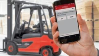 """App """"pre-op check"""": Neue Funktionen für das Flottenmanagementsystem connect: von Linde Material Handling"""