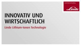 Video zur Wirtschaftlichkeit der Lithium-Ionen Technologie