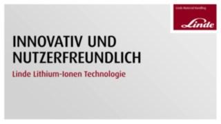 Video zur Nutzerfreundlichkeit von Lithium-Ionen-Batterien