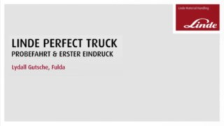 Video zum Perfect Truck von Linde