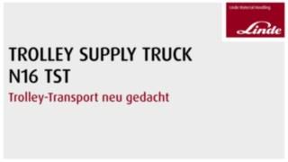Video Trolley Supply Truck