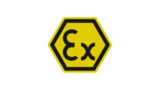 Ex-Schutz Warnschild für ATEX-Zonen