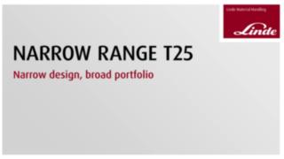 Vorstellung der neuen Narrow Range T25 AP von Linde Material Handling auf der LogiMAT 2019