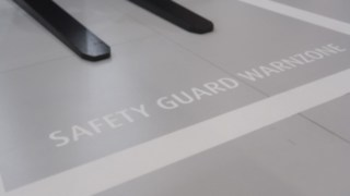 Die Linde Safety Guard Warnzone auf der LogiMAT 2019