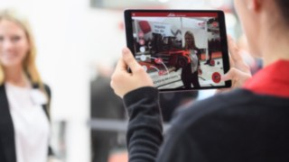 Die Linde Virtual Showroom App auf der LogiMAT 2019